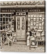 Village Stores 3 Acrylic Print