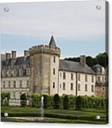 Villandry Chateau And Boxwood Garden Acrylic Print