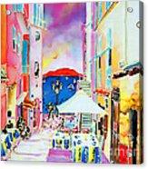 Villefranche Acrylic Print