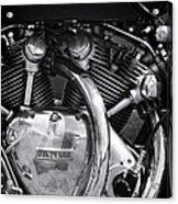 Vincent Series C Black Shadow Engine Acrylic Print