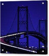 Vincent Thomas Bridge Acrylic Print