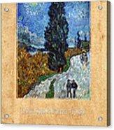 Vincent Van Gogh 4 Acrylic Print