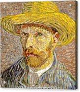Vincent Van Gogh Quotes 6 Acrylic Print
