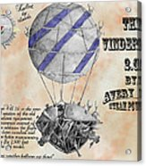 Vindervill 2.0 Acrylic Print by Avery Taylor