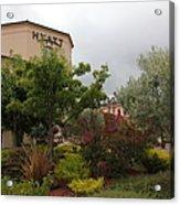 Vineyard Creek Hyatt Hotel Santa Rosa California 5d25795 Acrylic Print by Wingsdomain Art and Photography