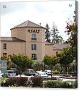Vineyard Creek Hyatt Hotel Santa Rosa California 5d25866 Acrylic Print