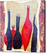 Vino 1 Acrylic Print by Phiddy Webb