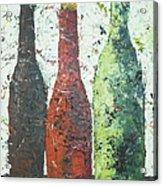 Vino 2 Acrylic Print by Phiddy Webb