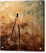 Vino De Arte Moderno Acrylic Print by Carmen Guedez