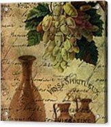 Vins Spiritueux Nectar Of The Gods Acrylic Print