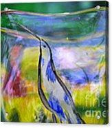 Vinsanchi Glass Art-1 Acrylic Print by Vin Kitayama