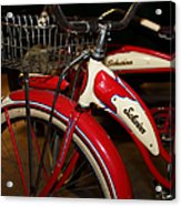 Vintage 1941 Boys And 1946 Girls Bicycle 5d25760 Vertical Acrylic Print