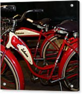 Vintage 1941 Boys And 1946 Girls Bicycle 5d25760 Acrylic Print
