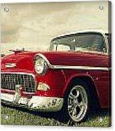 Vintage 1955 Chevy Nomad Acrylic Print