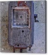Vintage Air Pump Acrylic Print