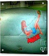 Vintage Airplane Margie Acrylic Print