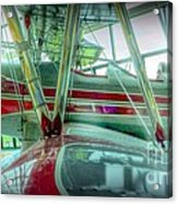 Vintage Airplane Two Acrylic Print