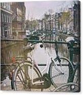 Vintage Amsterdam Acrylic Print