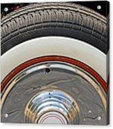Vintage Automobile Tire Acrylic Print