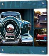 Vintage Automobiles Acrylic Print