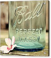 Vintage Ball Perfect Mason Acrylic Print