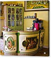 Vintage Bar - Hotel Subasio - Assisi Italy Acrylic Print