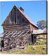 Vintage Barn Beauty II Acrylic Print