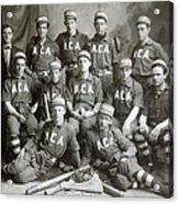 Vintage Baseball Team Acrylic Print