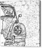 Vintage Beetle Acrylic Print