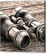 Vintage Binoculars Acrylic Print