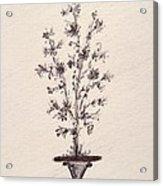 Vintage Bouquet Acrylic Print by Christine Corretti