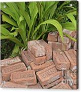 Vintage Brick Acrylic Print