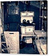 Vintage Cabin Interior Acrylic Print