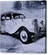 Vintage Car Acrylic Print by David Ridley
