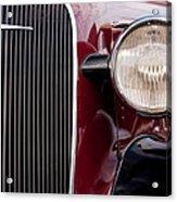 Vintage Car Details 6297 Acrylic Print