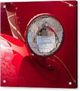 Vintage Car Details 6298 Acrylic Print