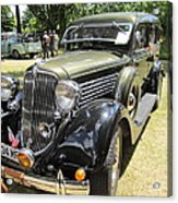 Vintage Car  Acrylic Print by Max Lines