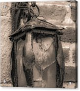 Vintage Carriage Lamp Acrylic Print