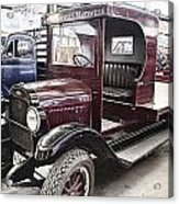 Vintage Chevrolet Pickup Truck Acrylic Print