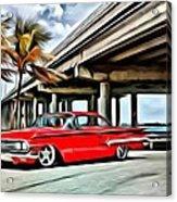 Vintage Chevy Impala Acrylic Print