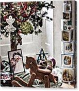 Vintage Christmas Acrylic Print