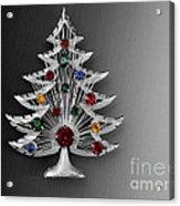 Vintage Christmas Tree Acrylic Print