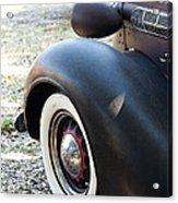 Vintage Chrysler Automobile Poster Look II Usa Acrylic Print