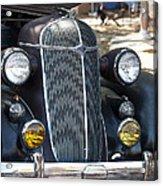 Vintage Chrysler Automobile Poster Look IIi Usa Acrylic Print