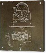 Vintage Cider Mill Patent Acrylic Print