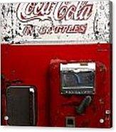 Vintage Coca Cola Acrylic Print