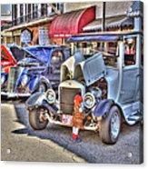 Vintage Cruise Cars 5 Acrylic Print