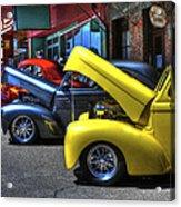 Vintage Cruise Cars 7 Acrylic Print