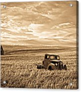 Vintage Days Gone By Acrylic Print