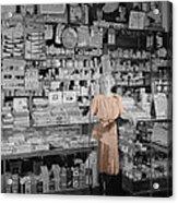 Vintage Drug Store Acrylic Print